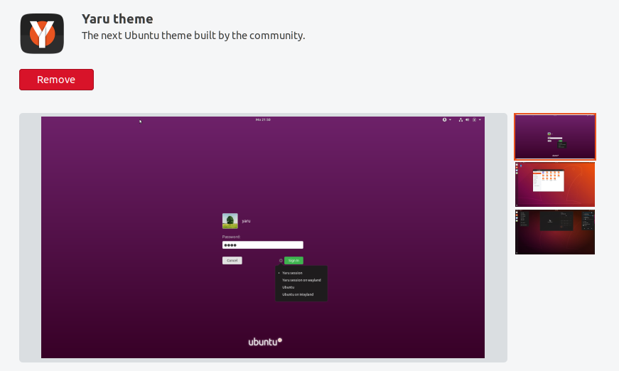 Yaru in the snap store - Theme Refresh - Ubuntu Community Hub